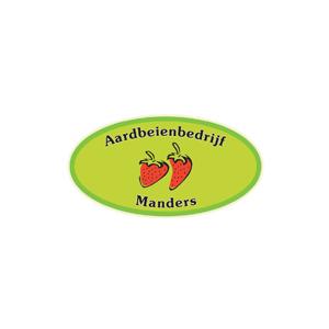 Aardbeienbedrijf Manders logo